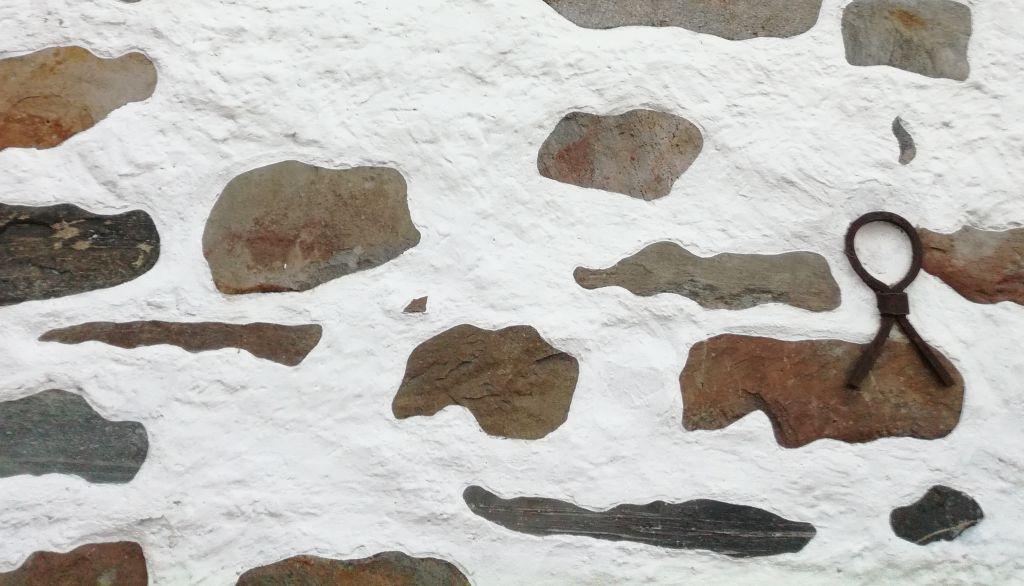 Yksityiskohta Kuopion tuomiokirkon seinästä ulkopuolelta