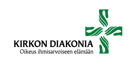 Kirkon diakonian logo