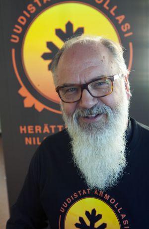 Saateltu, kirkkoherra Reijo Leino