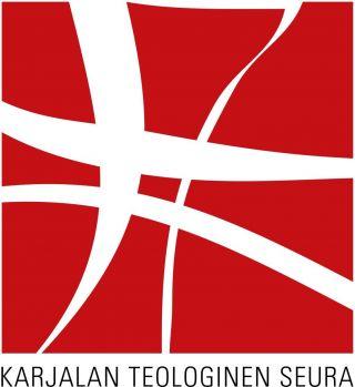 Karjalan teologisen seuran logo